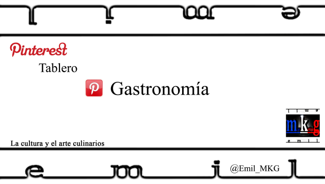 Pinterest Gastronomia