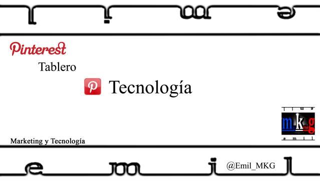 Pinterest Tecnologia