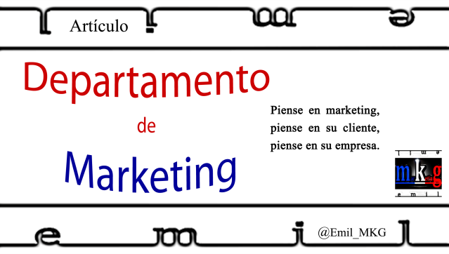 Departamento de Marketing